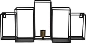 Wandlamp BALLY - mat zwart