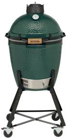 Big Green Egg Medium kamado barbecue met onderstel en hoes