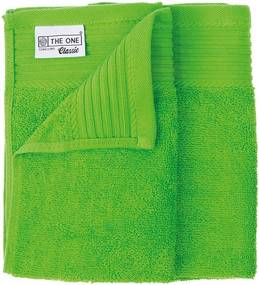 The One Towelling 2-PACK: Gastendoekjes Classic -30 x 50 cm - Lime Groen