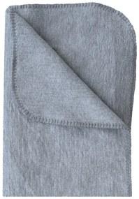 Prenatal ledikantdeken grijs melange