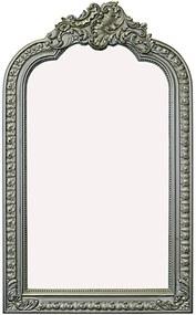 Spiegel Barok 140x83 cm Zilver