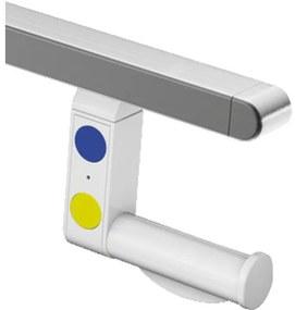 Hewi Closetrolhouder Polyamide Grijs 950.50.06590 92
