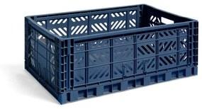 Colour Crate L Navy Vouwkrat L60 X B40 X H22