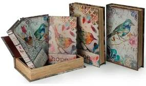 Trunks, opbergdozen Multicolour Signes Grimalt  Paper Box 6 September Units