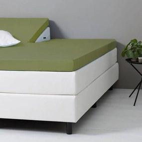 Dekbed-Discounter DD Splittopper Hoeslaken Katoen - Groen 160 x 200