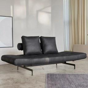 Innovation Living Ghia Laser Slaapbank Met Metaal Frame - 550 Fanual Black