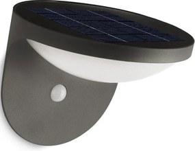 Philips Dusk wandlamp met zonnecel en bewegingssensor