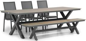 Lifestyle Ultimate/Forest 240 cm dining tuinset 5-delig