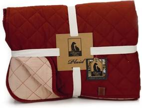 plaid futon bor roze 200x150