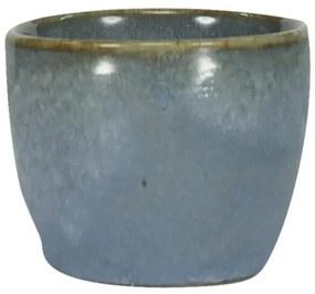 Eierdop - 5 Cm - Porto - Reactief Glazuur - Blauw (blauw)