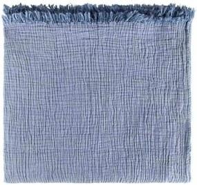 Sprei Santorini, blauw, indigo, 200-240 cm