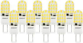 GY6.35 LED Lamp 4W Warm Wit Dimbaar 10-Pack