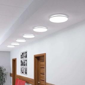 LED plafondlamp Jon, universeel wit, rond, 24W