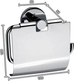 Toiletrolhouder Sanilux Rond