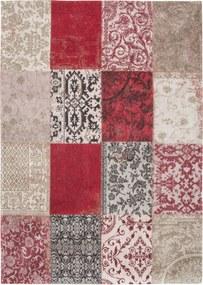 Louis de Poortere   Vloerkleed Antwerp 8985 breedte 60 cm x lengte 90 cm rood vloerkleden 100% wol vloerkleden & woontextiel   NADUVI outlet