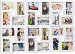 Fotolijst / Fotocollage 24 foto's - Wit
