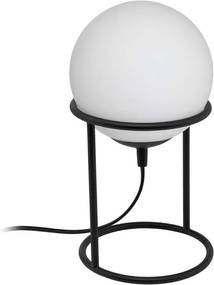 EGLO tafellamp Castellato 1 - zwart/wit - Leen Bakker