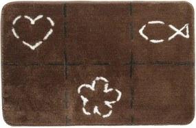 Sealskin Tack badmat acryl 90x60cm bruin 293273674