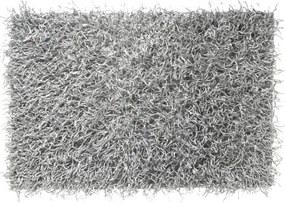 Badmat Antislip Sealskin Filo Polyester Zilver 60x90cm