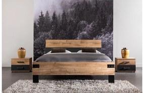 Goossens Basic Bedframe Industrial, 140 x 200 cm