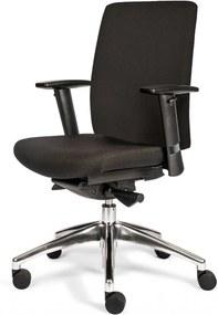 Ergonomisch zwarte bureaustoel Orea