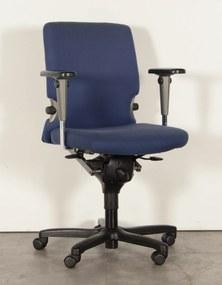 Bureaustoel Haworth Comforto 77, blauw, 3D armleggers