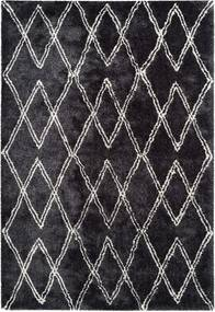 More99 | Vloerkleed Hades 200 x 290 cm, poolhoogte 27 mm antraciet vloerkleden 100% polyester / onderzijde: 100% vloerkleden | NADUVI outlet