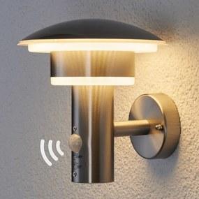 PIR-buitenwandlamp Lillie met LED's - lampen-24