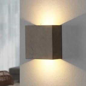 Yva - wandlamp uit beton - lampen-24