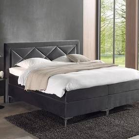 Intense Velvet Boxspringset Sante Pocket 140 x 200 cm