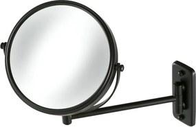 Spiegel 1-armig mat zwart
