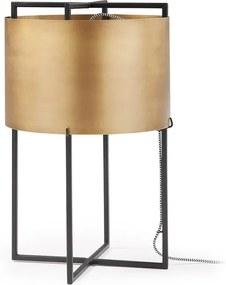 Kave Home Keeway (Kelley) Moderne Tafellamp Messing