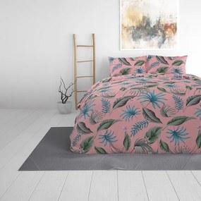 Sleeptime Elegance Yellie - Roze 1-persoons (140 x 220 cm + 1 kussensloop) Dekbedovertrek