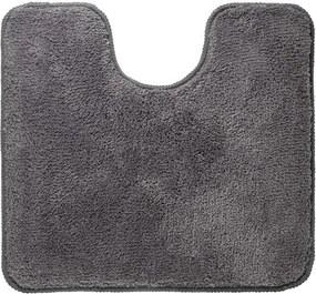 Sealskin Angora toiletmat Polyester 55x60cm grijs 293997014
