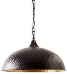 Rivièra Maison - Union Square Hanging Lamp M - Kleur: zwart