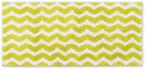 Bevel 100% katoenen badmat, 50x110cm, Chartreuse geel