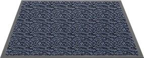 Schoonloopmat Blauw - Mars - 90 x 150 cm