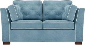 Florenzzi | 2 Zitsbank Frontini afmetingen (cm) algemeen : l 216 x breedte 95 blauw zitbanken - frame: versterkt en thermoverwarmd | NADUVI outlet