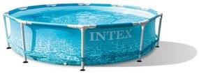 Intex Opbouwbaar Zwembad - Beachside Metal framepool 305x76 cm