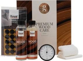 Goossens Houtzeep Premium Wood Care Kit, Tbv onbewerkt teak