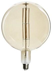 Vintage LED lamp - bol - ø20x28 cm