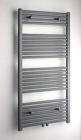 Altare R radiator 40x120 cm. n25 438w recht middenaansl. grijs metallic