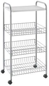 Metaltex keukentrolley Atlanta - 4 etages - 39x30x84 cm