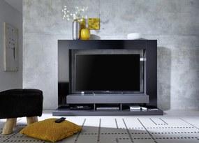 Modern TV-Wandmeubel Melbourne Zwart