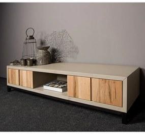Tower Living TV-meubel Eiken En Beton 180 Max - 180x45x40cm.