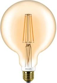 Philips CLA E27 LED Globelamp 8-50W G120 Goud Extra Warm Wit Dimbaar