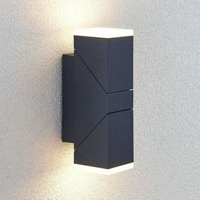 LED buitenwandlamp Sally, 2-lamps - lampen-24