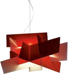 Foscarini Big Bang hanglamp rood