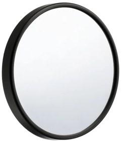 Smedbo Make Up spiegel voorzien van zuignap Zwart ABS Spiegelglas Diameter 130 mm Zwart FB622