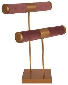 Sieradenrek - roze - 27x12x28 cm